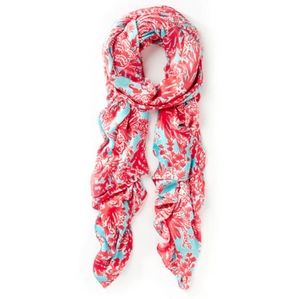 Lilly Pulitzer Lillian Shorely Blue Scarf